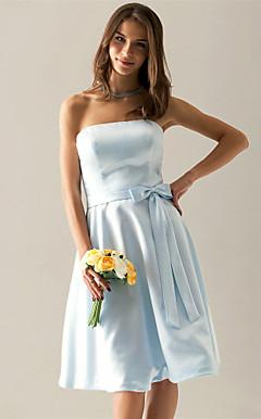 AMARILLO - Vestido de Casamento e Madrinha em Cetim