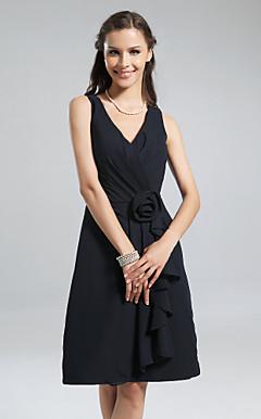 ELAYNE - Vestido de Madrinha em Chifon