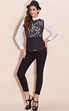 TS Lace Layered Vest