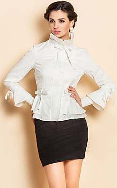 TS Bow Tie Ruffle Jacket