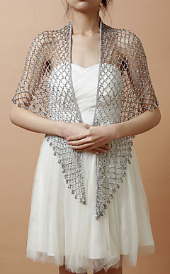 Beautiful Rayon Evening/Wedding Shawl With Beading (More Colors)