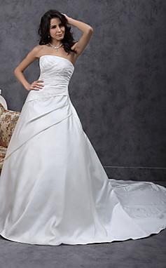 الجملة الجملة ألف خط قطار مصلى الساتان فستان الزفاف