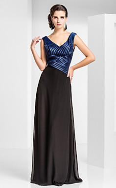 الجملة الجملة Zara- فستان سهرة نسائي -شيفون