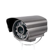 venta al por mayor 480tvl 1 / 3 de pulgada sony color ccd ir impermeable 80m distancia con cable adaptador de CA con cámara