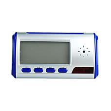venta al por mayor reloj despertador digital con cámara de vigilancia oculta (azul)