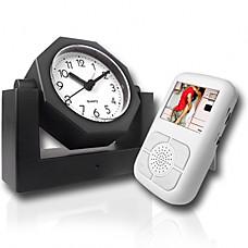 venta al por mayor estilo de reloj de la cámara espía con receptor de pantalla de cristal líquido