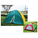 Six People Twin Size Outdoor Camping Tent (HYYP183)(Start From 10 Units)