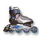 Rollerblade Youth Adjustable In Line Skates Shoes Size US 6-7.5/EU 37-40(PF105.2)