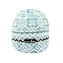 SAMII Jacquard Argyle Knit Beanie Hat-Blue (0031) (Start From 20 Units)-Free Shipping