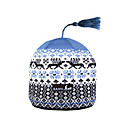 SAMII Jacquard Argyle Knit Beanie Skull Cap Hat-Blue (0003) (Start From 20 Units)-Free Shipping