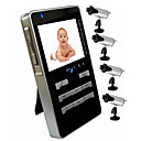 Handheld Wireless AV Receiver + 4 Baby Monitor Cameras (AF008) (Start From 5 Units)-Free Shipping