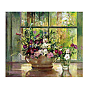 Handmade Flowers Art Oil Painting on Canvas High quality GDH-146 (Start From 20 Units) Free Shipping
