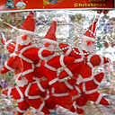 Star-shaped Santa Claus Christmas Ornament(ZL020 )(Start From 30 Units)-Free Shipping