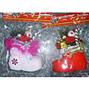 Santa Christmas Ornament Shoes (GJ014) (Start From 30 Units)-Free Shipping