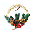 Decorated Grapevine Wreath (217048)(Start From 30 Units)-Free Shipping