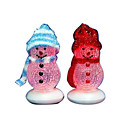 1-Piece USB Powered Desktop Snowman with LED/10CM High (SDBC001) (Start From 300 Units)Free Shipping