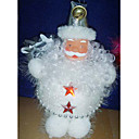 Santa Clause Christmas Ornament White (GJ023) (Start From 30 Units)-Free Shipping