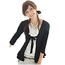 1-pc 3/4 Sleeve Tie Front Top (YFNS087) (Start From 10 Units)Free Shipping