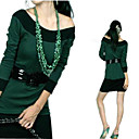 1-pc Off-Shoulder Sweater Dress(YFNS085) (Start From 10 Units)Free Shipping