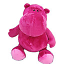 Plush Hippo Stuffed Animal-- Purple 30CM(MR045)