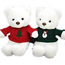 1 PC Plush White Bear Christmas Bear Sweater(MR009)