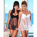 Cherrry Sparkles Sheer Baby Doll and Panties (LRB2047-PC) (Start From 5 Units)Free Shipping