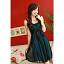 Gorgeous Ribbon Crinkled Chiffon Dress (XJQZ003)
