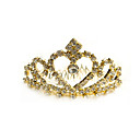 victorian oro tiara nupcial de bodas (pj128) (comienzo de 10 unidades) envo gratuito