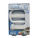Wii 2 in 1 Race Car Sport Kit-Controller Grip and Steering Wheel (LK013) (Start From 10 Units)