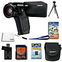 Sanyo Xacti VPC-HD1000 4.0MP HD Video Camera + 2GB SD Card + Extra Battery + 6 Bonus