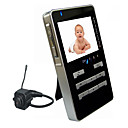 Wireless Baby Monitor 2,4 GHz / LCD da 2,5 &amp;quot;SD / MMC (AF003)