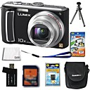 Panasonic Lumix DMC-tz5 (tz15) 10.7mp Digital Camera + 2GB SD Card + batería extra + 6 bonus