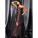 A-line Strapless Ankle-length Evening Dress / Prom Dress (HSX236) (Start From 3 Units) Free Shipping