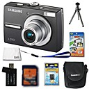 Samsung Digimax L210 10.3MP Digital Camera + 2GB SD Card + Extra Battery + 6 Bonus