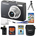 Samsung Digimax L110 8.3MP Digital Camera + 2GB SD Card + Extra Battery + 6 Bonus