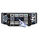 4,3-inch touch screen 1 din in-dash car DVD TV en bluetooth - afneembaar paneel jzy-4306 szc435