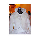 Long Sleeves Bridal Jacket / Wedding Wrap (HSX356)