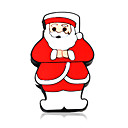 4gb cute adorable caricatura reproductor de mp3 con Santa Claus caso m3111 (szm122)