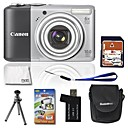 Canon PowerShot A2000 IS 10MP Digital Camera with 3.0-inch LCD + 4GB SD + 6 Bonus (SZW586)