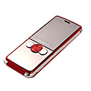 JINGPENG W880 Dual Card FM Function 2.0 Inch Touch Screen Cell Phone Red