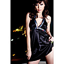 Simple Nightgown Babydoll Lingerie A1019B