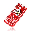 NOKELA A1000  Dual Card Dual Band Touch Screen Phone Red (Not For U.S/Canada) (SZR450)