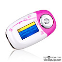 4gb mini mp3 players com alto-falante branco (szm071)