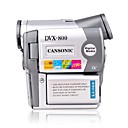 cansonic DVX-800 digitale camcorder met een 2,5-inch LCD-scherm en 8,0 Megapixel CMOS