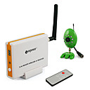 2.4G 4-channel kit wireless + Videocamera per visione notturna wireless