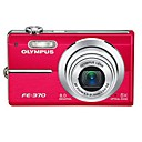 Olympus FE-370 Digital camera - compact - 8.0 Megapixel - 5 x optical zoom(SMQ1023)