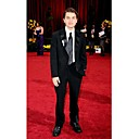 The 81st Oscar Emile Hirsch Two Button Peak Lapel Tuxedo Suit / Jacket & Pants ( OSCM002)