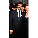 The 81st Oscar Josh Brolin Two Button Notch Lapel Tuxedo Suit / Jacket &amp; Pants ( OSCM007)