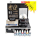 Free Shipping Professional Tattoo Kits With 2 Tattoo Guns