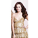 Leighton Meester Empire Spaghetti Straps Short/Mini Lace Cocktail/Homecoming/Gossip Girl Fashion Dress (FSH0029)
